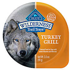 BLUE Wilderness® Trail Trays Small Dog Food - Natural, Grain Free, Turkey Grill