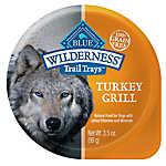 BLUE Wilderness® Trail Trays Small Dog Food - Natural, Grain Free, Turkey Grill