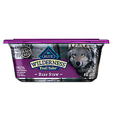 BLUE Wilderness® Trail Tubs Dog Food - Natural, Grain Free, Beef Stew