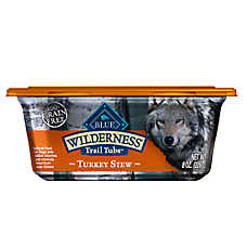 BLUE Wilderness® Trail Tubs Dog Food - Natural, Grain Free, Turlkey Stew