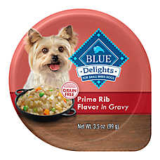 BLUE Divine Delights™ Dog Food - Natural, Prime Rib