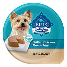 BLUE Divine Delights™ Dog Food - Natural, Grilled Chicken