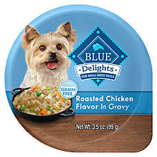 BLUE Divine Delights™ Dog Food - Natural, Rotisserie Chicken