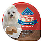 BLUE Divine Delights™ Small Breed Dog Food - Natural, Filet Mignon Flavor, Pate