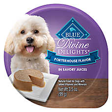 BLUE Divine Delights™ Dog Food - Natural, Porterhouse
