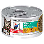 Hill's® Science Diet® Perfect Weight Adult Cat Food - Roasted Vegetable & Chicken Medley