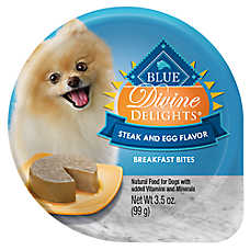 BLUE Divine Delights™ Breakfast Bites Dog Food - Natural, Steak & Egg