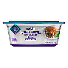 BLUE Roast Turkey Dinner Dog Food - Natural