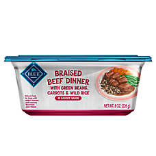 BLUE Dog Food - Natural, Braised Beef Dinner