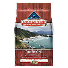 BLUE Earth's Essentials Pacific Grill Dog Food - Natural, Salmon & Lentils