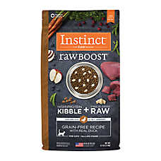 Nature's Variety® Instinct® Raw Boost Cat Food - Natural, Grain Free, Freeze Dried Raw, Duck