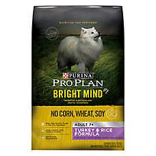 Purina® Pro Plan® Bright Mind™ Adult 7+ Dog Food - Turkey & Rice