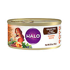 HALO® Puppy Food - Natural, Grain Free, Chicken Recipe