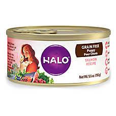 HALO® Puppy Food - Natural, Grain Free, Salmon Recipe