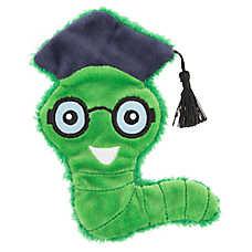 Top Paw® Back to School Flattie Worm Dog Toy