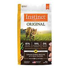 Nature's Variety® Instinct® Original Cat Food - Natural, Grain Free, Chicken
