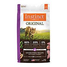 Nature's Variety® Instinct® Original Cat Food - Natural, Grain Free, Rabbit