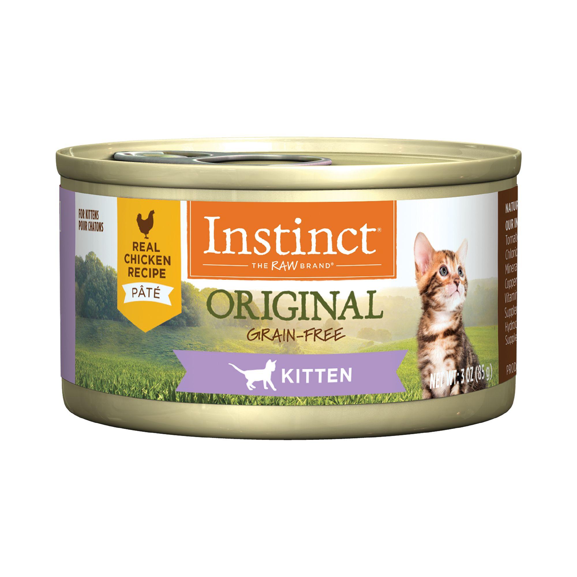 Nature S Variety Instinct Grain Free Kitten Food Natural