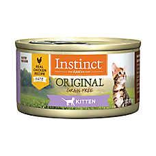 Nature's Variety® Instinct® Grain Free Kitten Food - Natural, Chicken