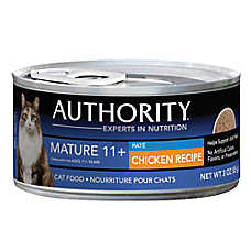 Authority® Mature 11+ Adult Cat Food - Chicken