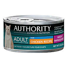 Authority® Weight Management Adult Cat Food - Chicken