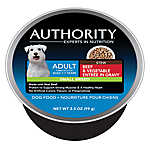 Authority® Small Breed Adult Dog Food - Beef & Vegetable Stew
