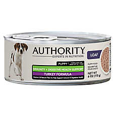 Authority® Immunity + Digestive Health Puppy Food - Turkey