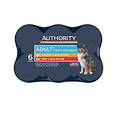 Authority® Cuts in Gravy Adult Wet Dog Food Variety Pack