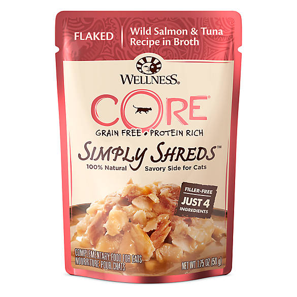Wellness 174 Core 174 Simply Shreds Cat Food Natural Grain