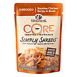 Wellness® CORE® Simply Shreds Cat Food - Natural, Grain Free, Chicken