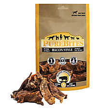 PureBites® Jerky Dog Treat - Natural, Bacon