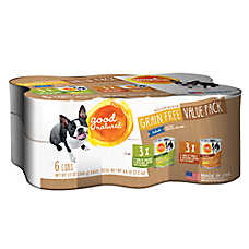 Good Natured™ Dog Food - Cuts in Gravy, Variety Pack