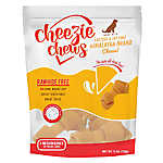 Cheezie Chews Rawhide Free Medium Dog Treat - Cheese