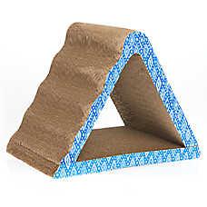 Grreat Choice® Pyramid Nesting Cat Scratcher (COLOR VARIES)