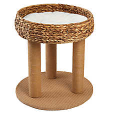 Whisker City® Wicker Cat Lounge