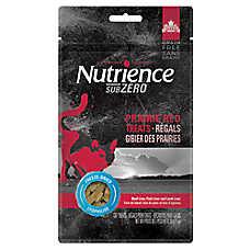 Nutrience® SubZero Trail Mix Cat Treat - Natural, Grain Free, Freeze Dried Raw, Prairie Red