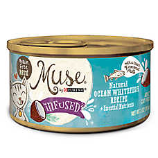 Muse® Infused Adult Cat Food - Natural, Grain Free, Ocean Whitefish