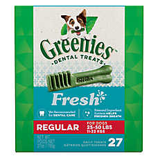 Greenies® Regular Dental Dog Treat - Fresh