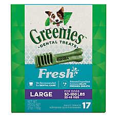 Greenies® Large Dental Dog Treat - Fresh
