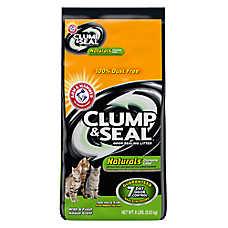 ARM & HAMMER™ Clump & Seal Naturals Cat Litter - Clumping, Fresh Scent