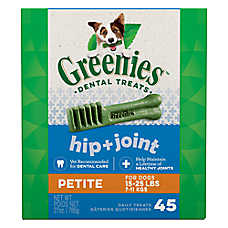 Greenies® Hip & Joint Care Petite Dental Dog Treat