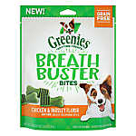 GREENIES® Breath Buster Bites Dental Dog Treat - Grain Free, Chicken & Parsley