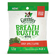 GREENIES® Breath Buster Bites Dental Dog Treat - Grain Free, Crisp Apple