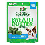GREENIES® Breath Buster Bites Dental Dog Treat - Grain Free, Fresh