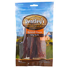 "Dentley's® Nature's Chews 6"" Bully Sticks Dog Treat - Natural"