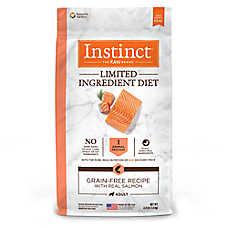 Nature's Variety® Instinct® Limited Ingredient Diet Adult Dog Food -  Grain Free, Raw, Salmon