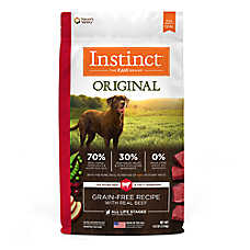 Nature's Variety® Instinct® Original Adult Dog Food - Natural, Grain Free, Raw, Beef