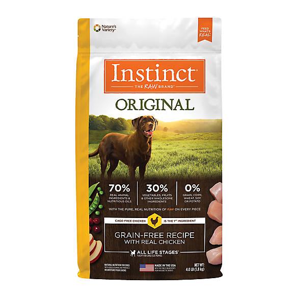 Instinct Original Grain Free Recipe Natural Dry Dog Food