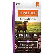 Nature's Variety® Instinct® Original Dog Food - Natural, Grain Free, Raw, Rabbit