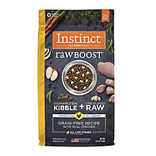Nature's Variety® Instinct® Raw Boost Dog Food - Natural, Grain Free, Freeze Dried Raw, Chicken